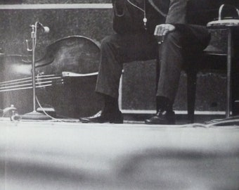 John Coltrane, New York, 1959 - Laminated Original A4 Press Poster