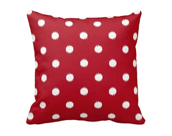 SALE | 30% OFF: Decorative Throw Pillows Decorative Pillows for Couch Red Pillows Red Throw Pillow Cover Polka Dot Pillow Red Cushion Covers