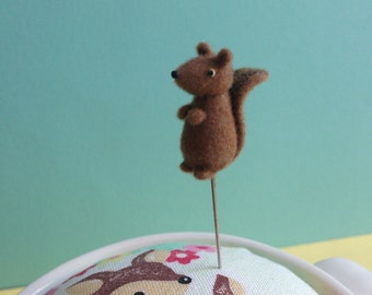 Squirrel Pin Topper