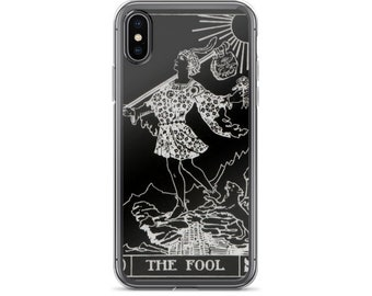 THE FOOL Tarot Card iPhone 7/8 , 7/8 Plus , iPhone X Case