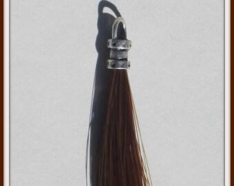 Horse Hair Tassel/Zipper Pull