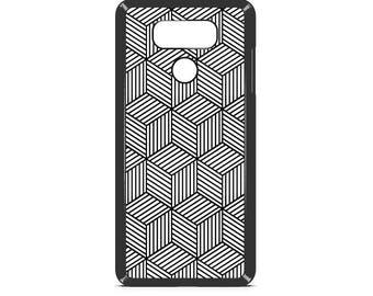 LG Case Geometric Squares LG G5 Case LG G6 Case Phone Case lg phone case g4 case g3 case Phone Cover geometric phone case artsy phone case