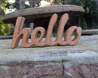 hello sign,hello,home decor,hello wood sign,wood sign,wood hello sign,hello decor,entryway decor,office decor,wooden hello sign,wooden decor