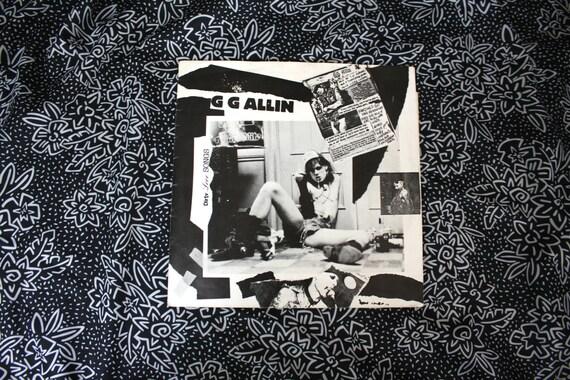 G G Allin - Dirty Love Songs Vintage Vinyl LP 12
