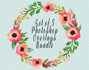 SET OF 5 Photoshop Overlays Bundle, Choose Any From My Shop, Sparklers, Glitter, Sky Overlays, Wedding Overlays, Photo Overlays