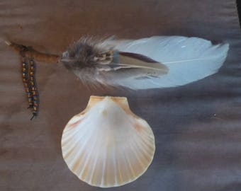 Kit for smudging (ritual purification)