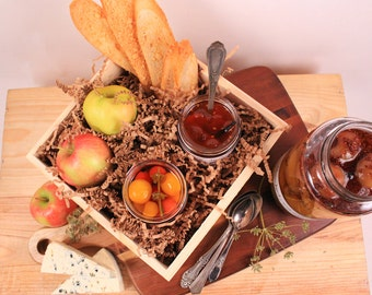 The Breakfast Jams Gift with Wood Gift Box