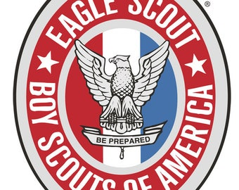 Boy Scouts Eagle Scout Edible Image Cake Topper Personalized Birthday 1/4 Sheet