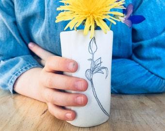 Tiny Dandelion Forager Vase