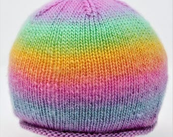 Aux So Sophia Roll Brim Baby Beanie