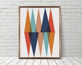 INSTANT DOWNLOAD Abstract Minimalist Scandi Printable Art, Abstract Wall Art, Decor Print, Printable Instant Download
