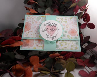 Mother's Day Gift Card Holder, Mother's Day Card, Gift Card Holder, Happy Mother's Day Gift Card