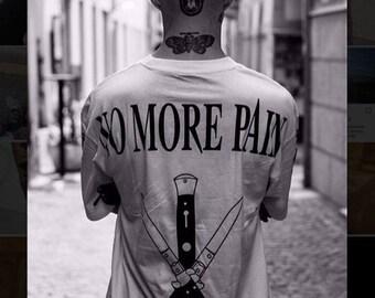 NEW T-shirt No More Pain Tattoo Studio