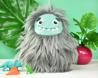 Fuzzy Friendly Stuffed Monster/Plush