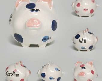 Custom Ceramic Piggy Bank with Attitude Mine