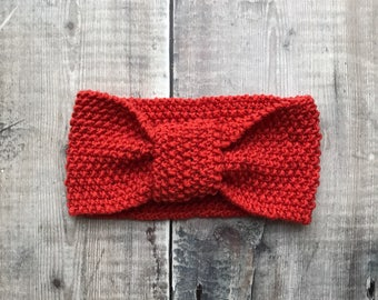 Knitted baby headband - kids hair accessories - childrens knitted headband - handmade hairband - baby shower gift - christmas present