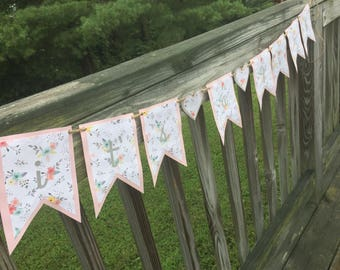 It's a Girl Baby Shower Banner, Gender Reveal Banner, Baby Shower Banner, It's a Girl Banner, Pink It's a Girl Banner, READY TO SHIP!