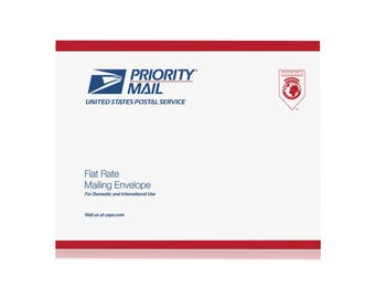Faster Shipping-Flat Rate Priority Envelope