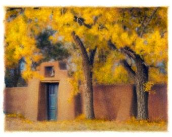 Galisteo, 4x5 original, signed, fine art photograph