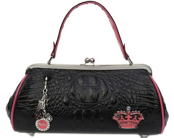 Couture Vintage High Roller inspired Handbag. Handmade in the USA- Gin & Sin