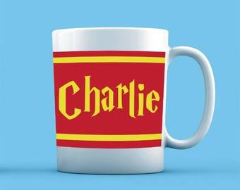 Harry Potter Inspired Mug - Personalised