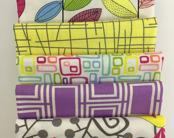 Bundle, Fat Quarters or 1/2 Yard Cuts, Uptown by Kim Schaefer for Andover