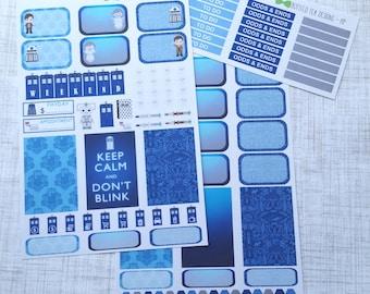 Doctor Who // Tardis Weekly Kit (Set of 37) Item #187