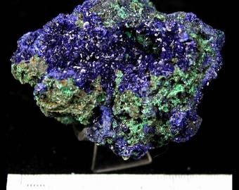 115g Sparkling Blue Azurite & Green Malachite from Liufengshan Anhui Mineral Specimen China CM730201