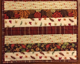 Autumn Fall Quilted Placemats