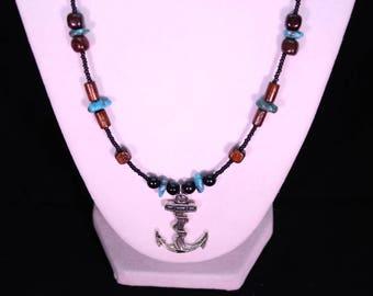 Necklace. Anchor