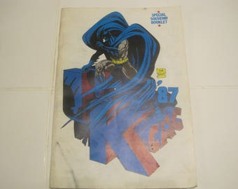 UKCAC  1987 The Fall Of The Mutants Special Souvenir Booklet Comic