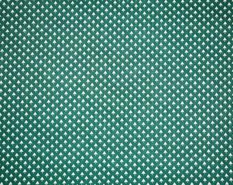 Green Christmas Tree Fabric, Christmas Tree Fabric, Christmas Quilting Fabric, Vintage Christmas Fabric, Vintage Fabric, Holiday Fabric
