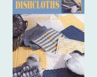 Leisure Arts Crochet Pattern Leaflet  The Big Book of Dishcloths Part No. 3027