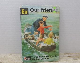Our Friends, 1964, Ladybird Key Words Reading Scheme, vintage kids book