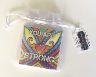 You Are Strong Energy Print