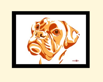 Custom Pet Portrait, Gift, Digital Print, Animal Print, Pet Art, Dog Art, Cat Art, Dog Print, Artwork, Digital Art