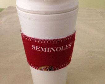 "Florida St. ""Seminoles"" Insulated Mug/Cup"