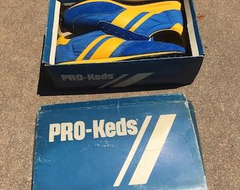 Vintage Pro Keds NOS unworn in original box size 6