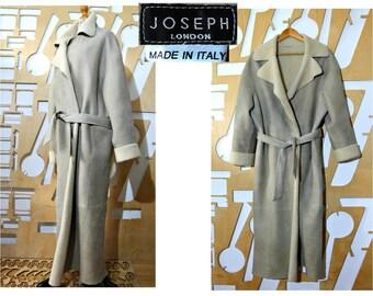 Sheepskin coat Shearling coat Oversized Festival Edwardian Suede coat Maxi Fur Coat Long coat Boho Swing Hippie Folk Festival Winter coat