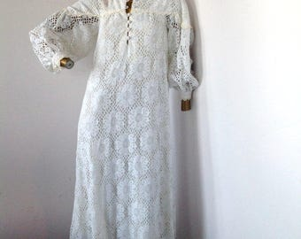 vintage 70s lace dress, live life with boldness in this beautiful vintage dress dress sz  6/8