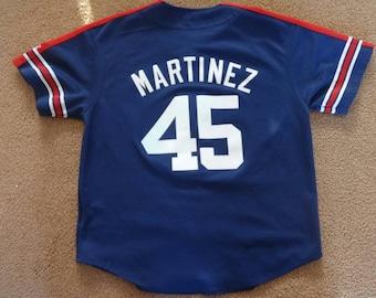 Vintage Starter Pedro Martinez Red Sox jersey.