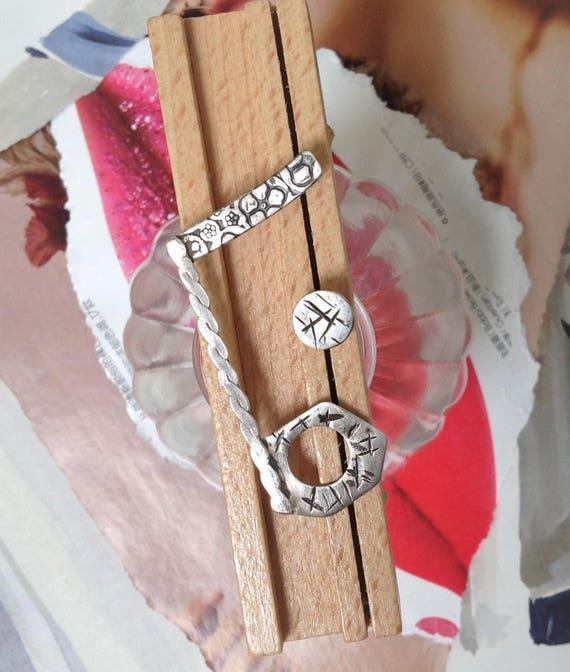 mismatched earrings | fashion earrings | arty jewelry | handmade sterling silver