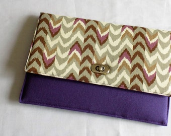 Purple Kindle Fire 10 sleeve, Kindle Fire 10 case, Tablet sleeve, tablet case, tablet clutch, ipad sleeve, ipad case