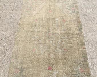 6.9x4.2 feet 211x127 cm, Anatolian Rug, Oushak Anatolian Carpet Rug, Tribal Rug,Vintage Turkish Rug,Bohemian Carpet Rug, Turkish Ethnic Rug,