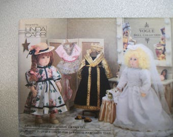 Vogue 8557 18 inch doll clothes. American Girl, My Generation, My Life.  Linda Carr