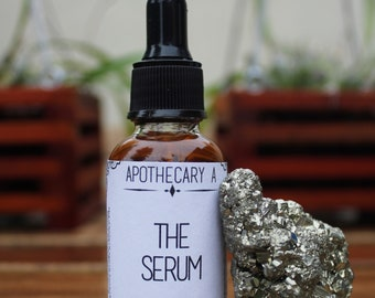 The Serum * Intensely Hydrating Rosehip Avocado & Argan Oil Face Moisturizer * Handmade Vegan Skincare Luxuries