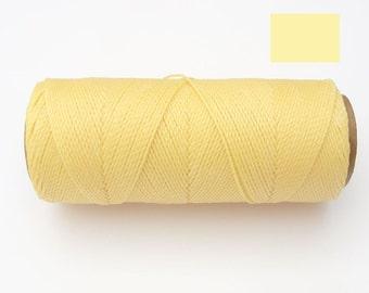 Waxed Thread - Macrame Jewelry Cord - Bracelet Cord - Spool of 188 yards - Linhasita 01