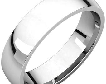 Classic Simple Gold Wedding Band