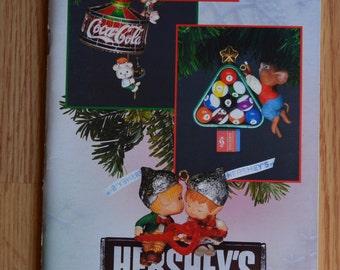 1993 Enesco Treasury of Christmas Ornament Brochure