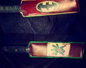 Custom Leather Paddle
